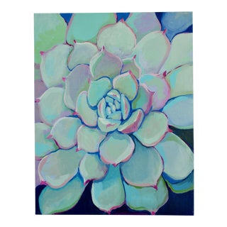 Succulent Contemporary Acrylic Painting