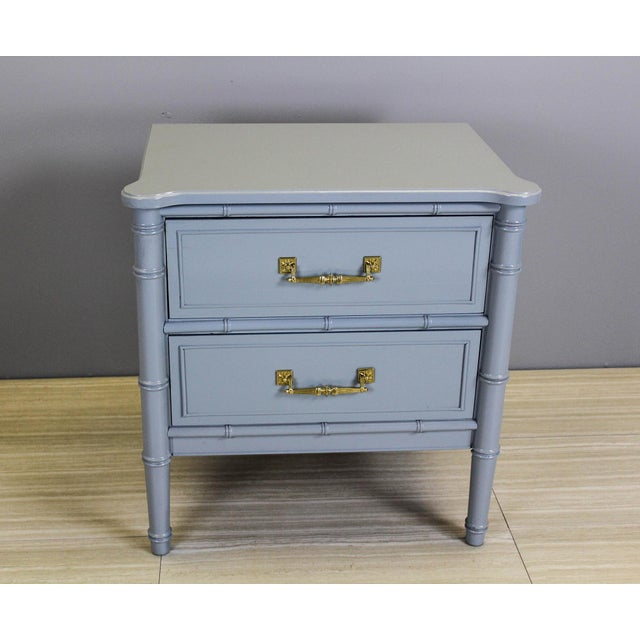 Vintage Palm Beach Style Nightstands - A Pair - Image 8 of 11