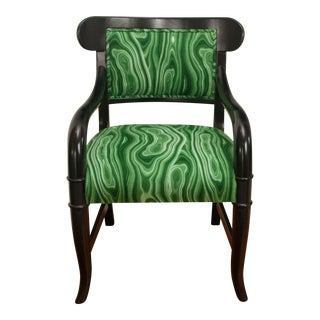 Malachite Green Arm Chair