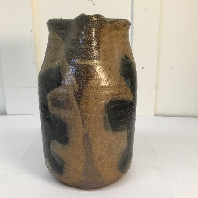 Vintage Hand Crafted Ceramic Pitcher - Image 4 of 8