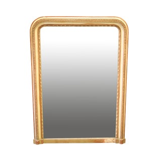 19th Century Painted Louis Philippe Mirror