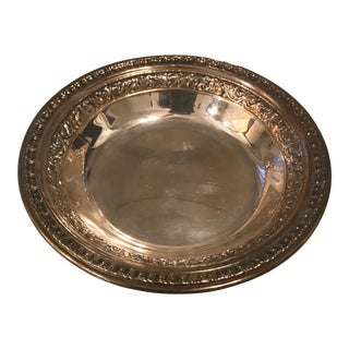Silver Plate Dish For Sale
