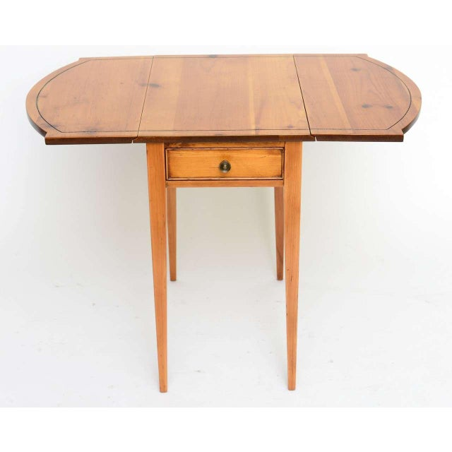 1940s Georgian Pine Pembroke Table For Sale - Image 12 of 12