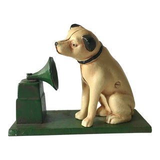 Reproduction RCA Dog Bank For Sale