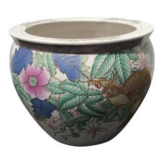 20th Century Chinese Style Ceramic Planter
