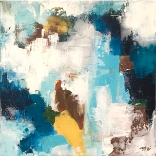 """""""Land & Sky"""" Original Abstract Painting For Sale"""