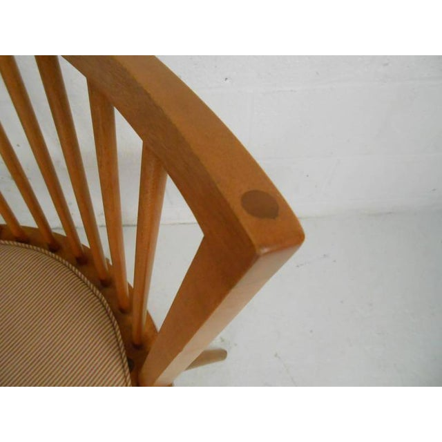 Wood Leslie Diamond for Conant-Ball Mid-Century Chairs - Set of 4 For Sale - Image 7 of 11