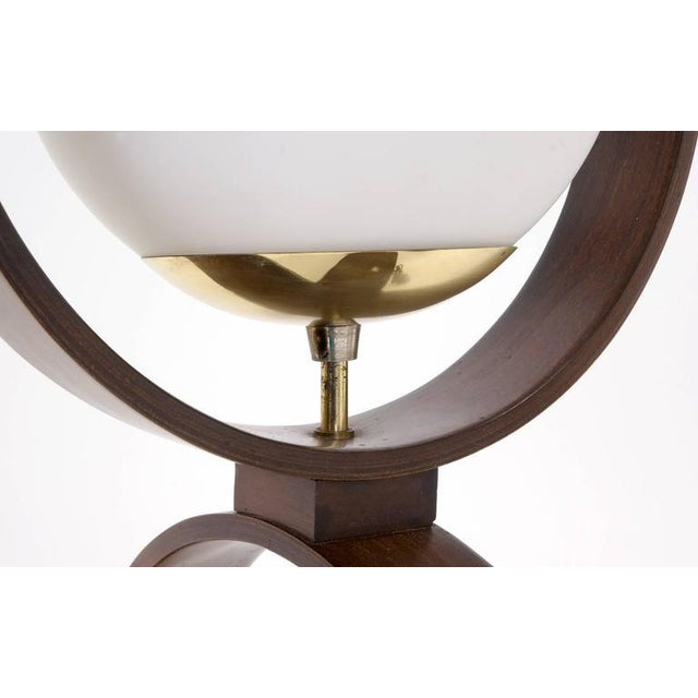 Large Pair of Danish Modern Three-Globe Table Lamps For Sale In Kansas City - Image 6 of 7