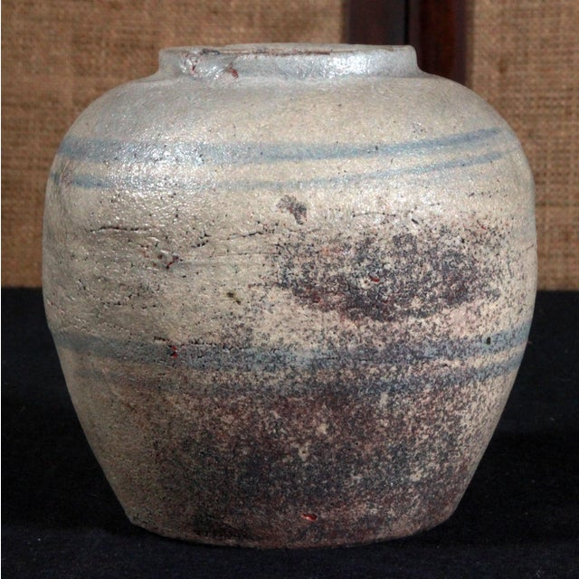 19th Century Chinese Provincial Blue & White Jar - Image 5 of 11