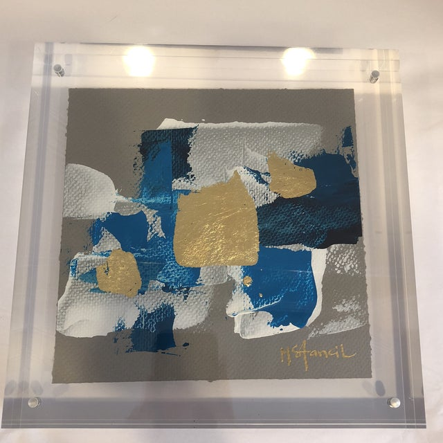 Original Art Floating in Lucite For Sale In Atlanta - Image 6 of 13