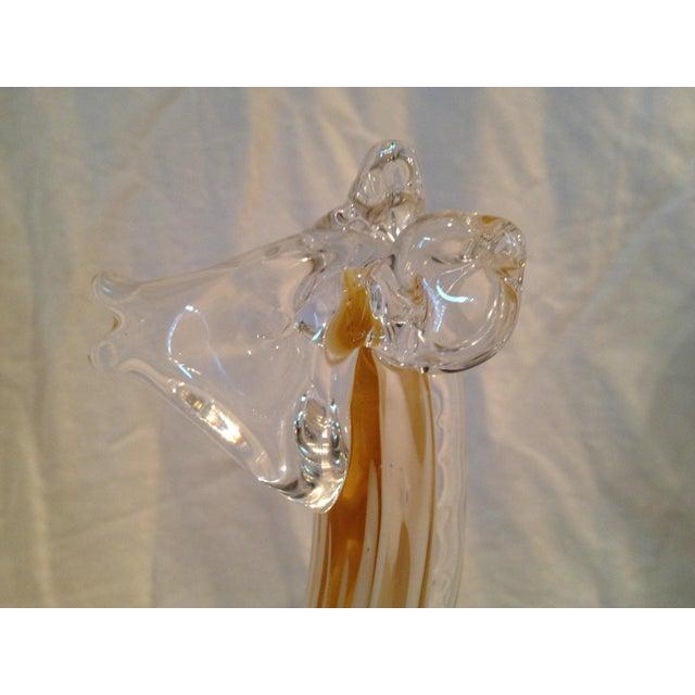 1950s Art Glass Giraffe For Sale - Image 5 of 5