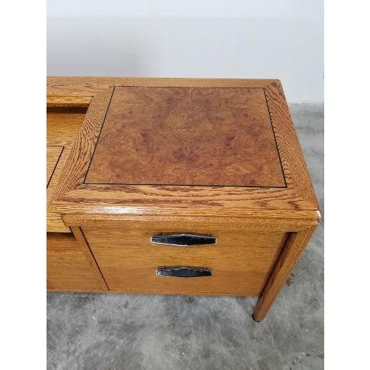Mid-Century Modern 1960s Mid-Century Monteverdi Young Credenza Desk For Sale - Image 3 of 13