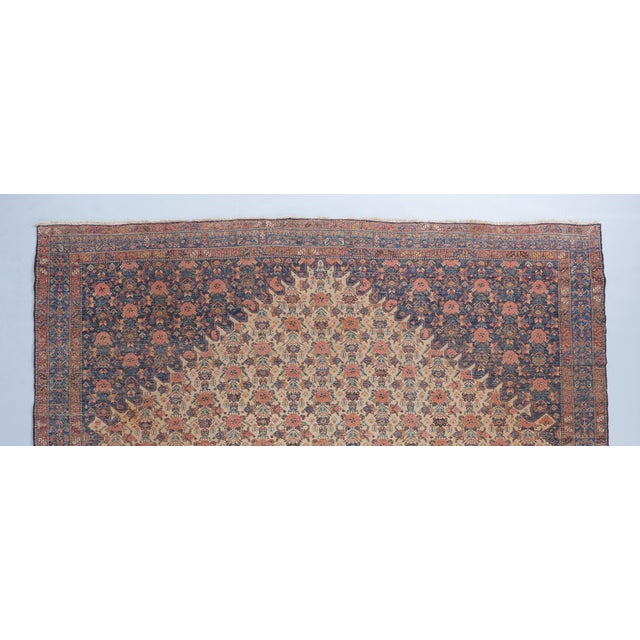 Beige Ground Bibikabad Carpet For Sale - Image 4 of 5