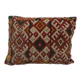 Image of Moroccan Berber Handwoven Tribal Vintage Pillow For Sale