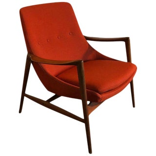 Westnofa Sculpted Lounge Chair-Norway-1950's