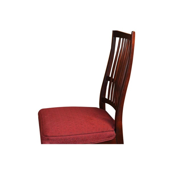 6 Svante Skogh Rosewood Cortina Dining Chairs For Sale - Image 10 of 13