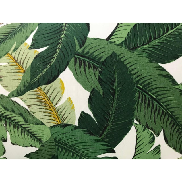 1940s Tropical Leaf Sofa For Sale In West Palm - Image 6 of 7