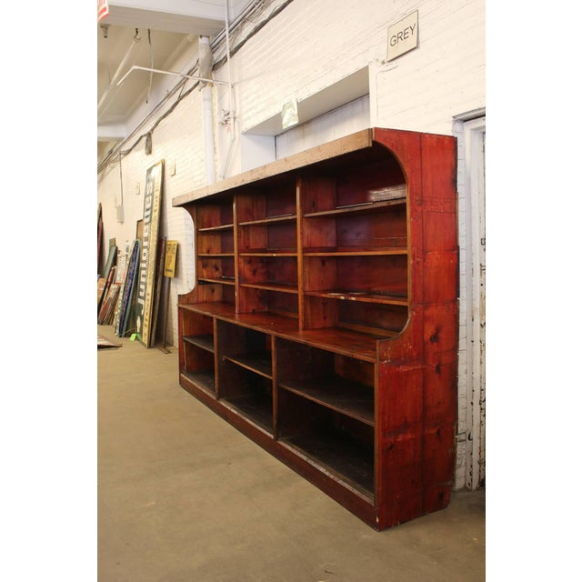 1950s Antique American Department Store Shelves For Sale - Image 5 of 6