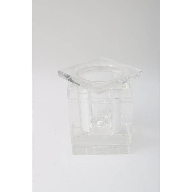 Lidded Lucite Ice Bucket - Image 6 of 9