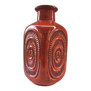 1960 Vintage Emons and Söhne West German Lava Vase