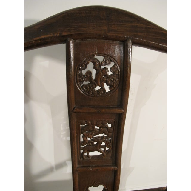 1900s 1990s Chinese Emperor Side Chair For Sale - Image 5 of 6