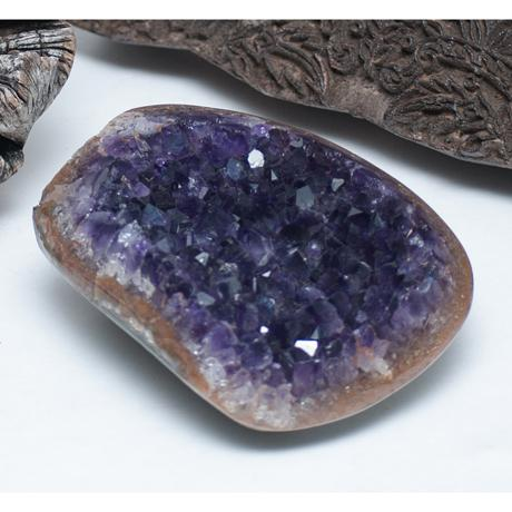 Amethyst Crystal & Wood Pieces - Set of 3 - Image 7 of 11