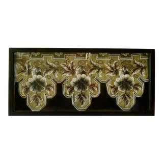 Victorian Beadwork Fragment For Sale