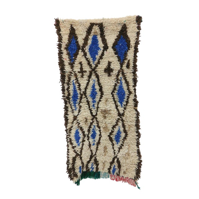 1980s Azilal Moroccan Rug - 2′6″ × 4′11″ For Sale