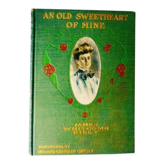 An Old Sweetheart of Mine Art Nouveau Book For Sale