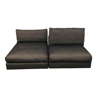 Contemporary 2-Piece Sectional Sofa