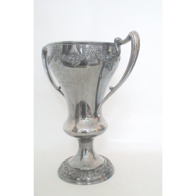 Antique 1920 Theology Debate Loving Cup Trophy - Image 5 of 7