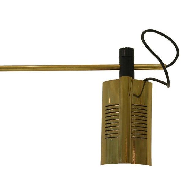 Italian Relco Hairpin Arc Boom Halogen Floor Lamp For Sale - Image 3 of 4