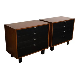 1960s George Nelson for Herman Miller Bachelor Chests - a Pair For Sale