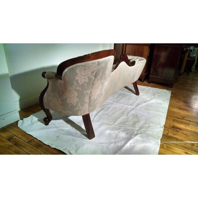 Antique Victorian Rosewood Sofa - Image 6 of 10