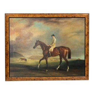 English Victorian Jockey Painting For Sale
