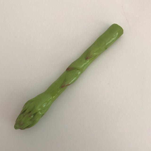 Porcelain Asparagus Spear - Image 2 of 4