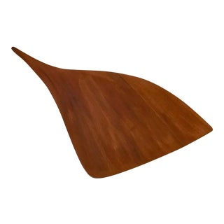 Carved Freeform Cutting or Cheese Board For Sale