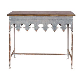 St. Tropez Scalloped Table For Sale