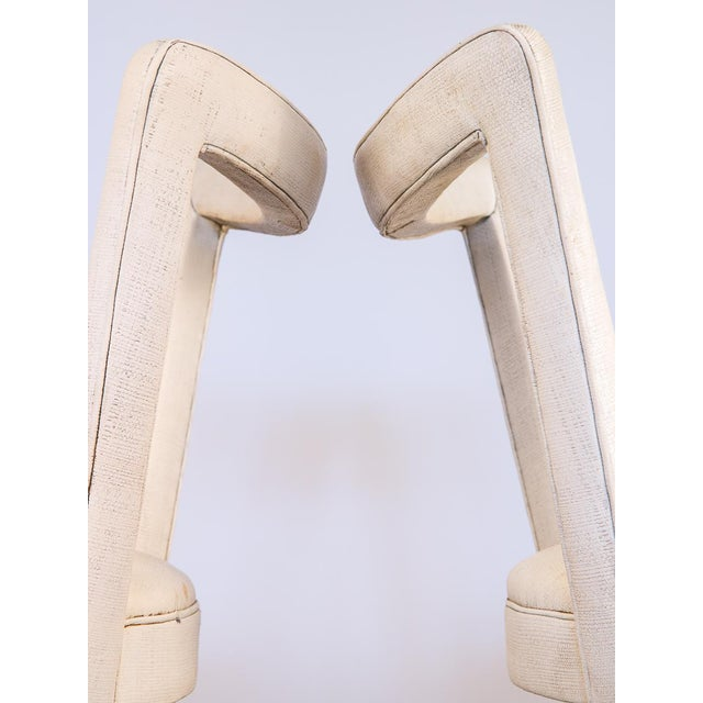 1950s Occasional Side Chairs - A Pair For Sale - Image 4 of 10
