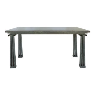 Post Modernist Architectural Console Table For Sale