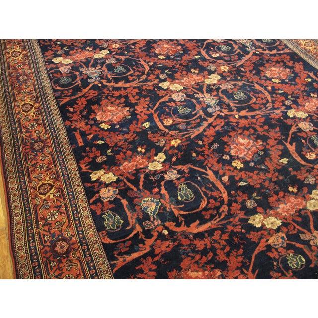 "Antique Bijar Persian Rug 9'3"" X 20'3"" For Sale - Image 4 of 7"