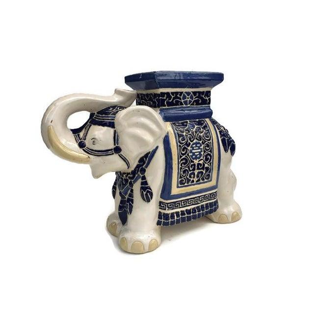 Vintage Chinoiserie Garden Elephant Stool Or Table Chairish