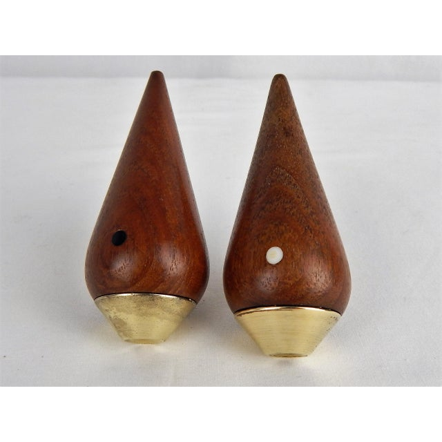 Danish Modern Salt & Pepper Set For Sale In Orlando - Image 6 of 9