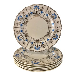 1950s Wedgewood Papyrus Dinner Plates - Set of 6 For Sale