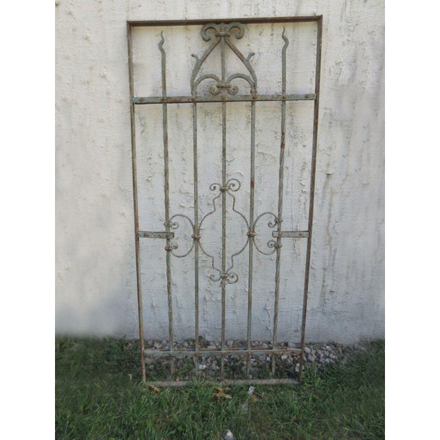 Wonderful piece of architectural salvage to be used as part of a gate or garden fence. Heavy, tight and sturdy. Piece does...