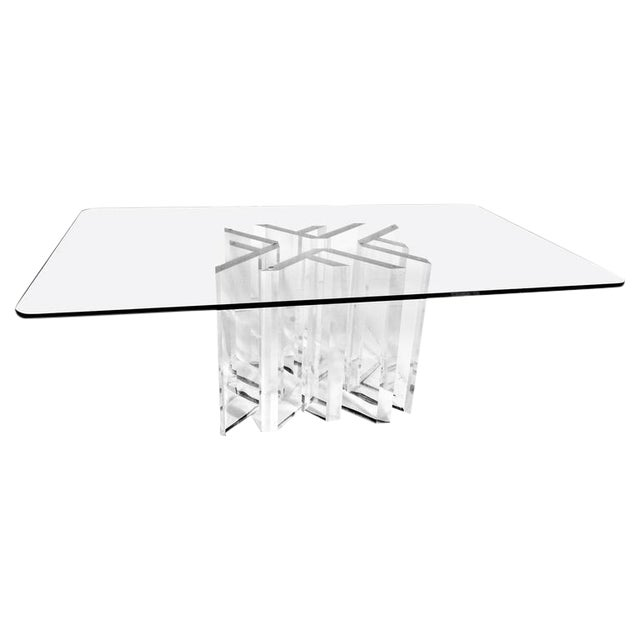 "Custom Jeffrey Bigelow ""Star"" Dining Room Table - Image 1 of 5"