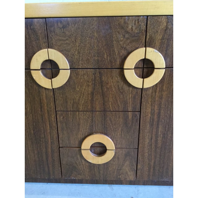 Willy Rizzo Style Wood Credenza For Sale - Image 11 of 12
