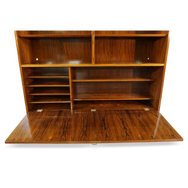Original Danish Mid Century Hundevad Rosewood Bookcase - Image 5 of 9