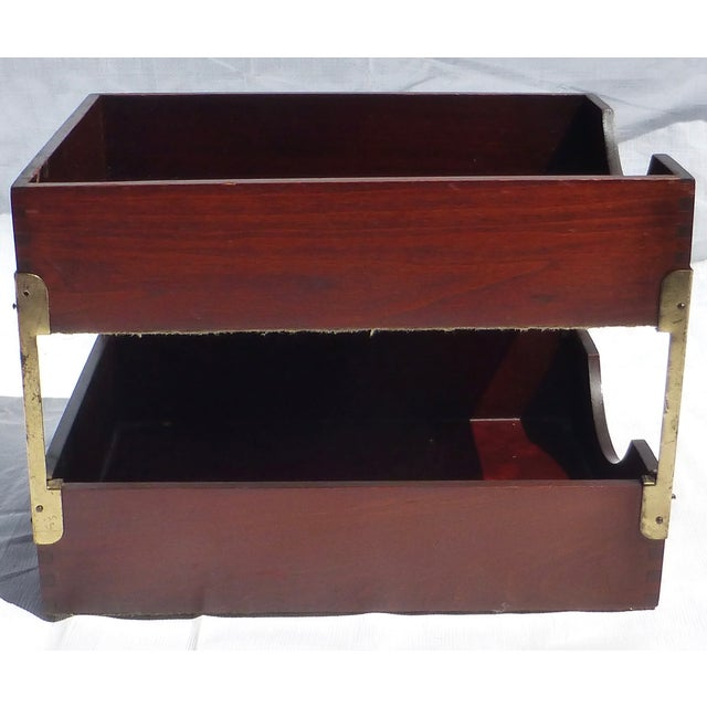 1930s Desk Organizer - Image 5 of 11