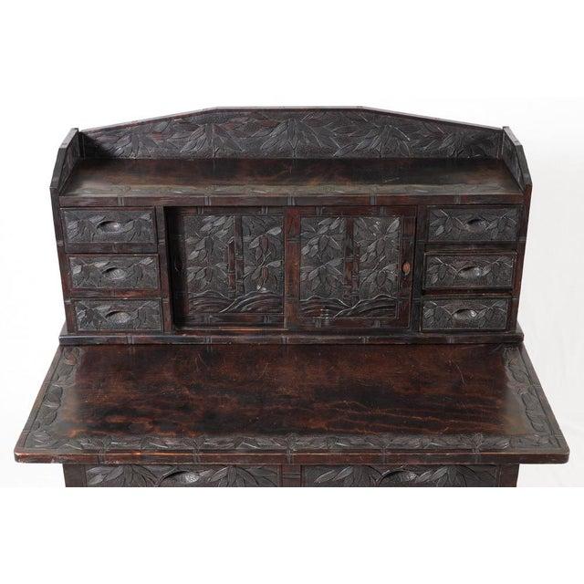 Oriental Ladies Writing Desk & Chair - Image 4 of 6